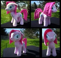 Crazy Pinkie Pony Plush by fireflytwinkletoes