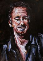 Bruce Springsteen by pjc16a