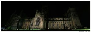 Durham Cathedral Panoramic by N1ghtf4ll3r