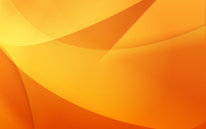 Orange Desktop Background by The-Dogfather