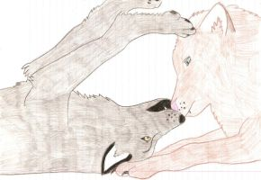 Wolf Love by CrazyLittleWolf