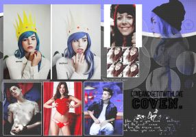 Coven,PSD by ComeAndGetItWithLove
