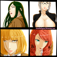 PRISON SCHOOL by claudiadragneel