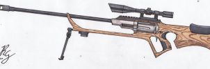 Sniper Rifle Revolver by MTriton