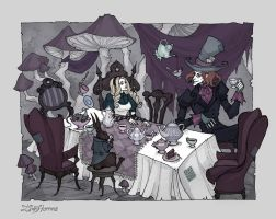 The Mad Tea Party by IrenHorrors