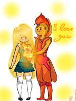 I love you - Flameonna by Fanppg1