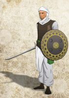 muslim soldier by Albraiki-art