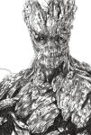 Groot Sketch by selenaloong