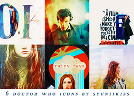 Doctor Who icons by Syuniikissing