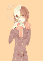 smoking by romuram
