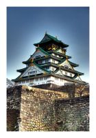 osaka castle by hbmediawork