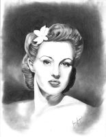 Betty Grable by PirateCaptainJess