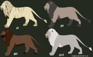 Adoptables lion by TwoEye