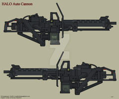 Halo Auto Cannon by Wolff60