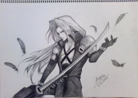 Sephiroth by amirajessy