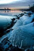 Ice Shelf by MarshallLipp