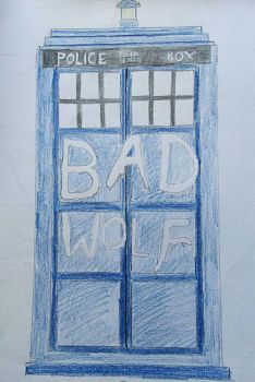 Bad Wolf by BlahBlahToucan