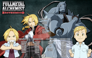 FMA Brotherhood - Wallpapers by Link-LeoB