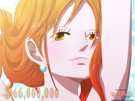 Nami New Wanted - One Piece by PainGothic