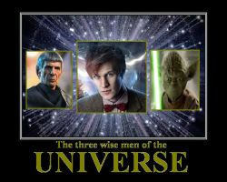 The three wise men of the universe by DoctorWhoOne