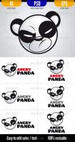 Angry Panda by doghead