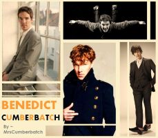 Benedict Cumberbatch by MrsCumberbatch