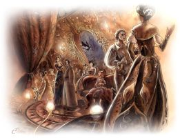 The evenings of the Baroness by Agalanthe