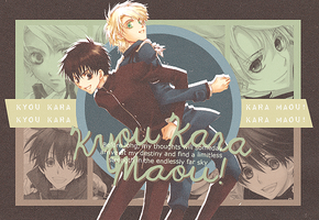 Out: Kyou Kara Maou! by niu-gl0