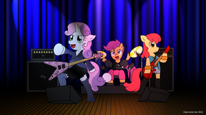 Cutie Mark Crusaders Years Ltr by ClaireAnneCarr
