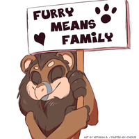 Furry Means Family by faster-by-choice