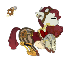 Steampunk Pone Adopt [CLOSED] by SteampunkedAdopts