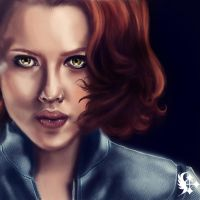 Black Widow by Celairen