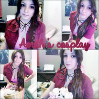 Aerith's Cosplay by Priestess-of-Avalon