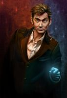 The Tenth Doctor by Oatsprite