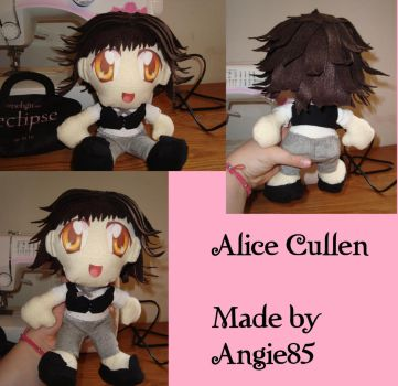 Alice Cullen Plushie by Angie85