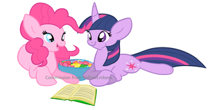 Books and Bubblegum :commission: by Selective-Yellow