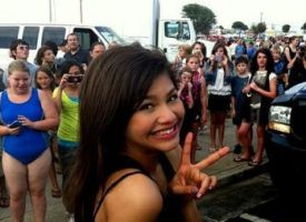 Me With Fans by Bella--and--Zendaya