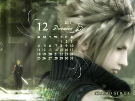 Cloud Strife December Walle by areemus