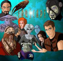 Farscape  'Frelling dren' by coldangel1