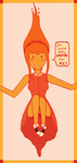 Flame Princess (50's stuck) by vintagenoise33