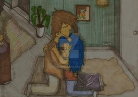 Homer And Marge - Kicked Out by ChnProd22