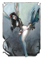 coppertone fairy and butterfly by RonnyVardy