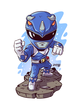 Blue Ranger by DerekLaufman