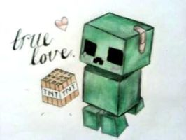 Creeper Love by UlquiorraKitteh