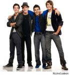 Big Time Rush smiles at the camera by Namine24