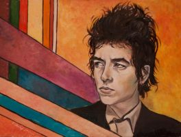 Bob Dylan by GoldBeer
