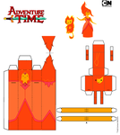 Flame Princess and Flambo by iloveyouhorzzza