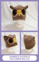Brown Owl Hat by cutekick