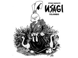 Usagi Yojimbo by eefmonsu