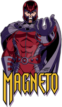 Magneto COLORED 2015 by LucasAckerman